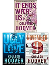 Colleen Hoover 3 Books Collection Set (November 9, Ugly Love, It Ends with Us)