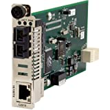 Fast Enet Ion Cnvtr Card 10/100B-TX To 100B-FX 1300NM Mm Sc