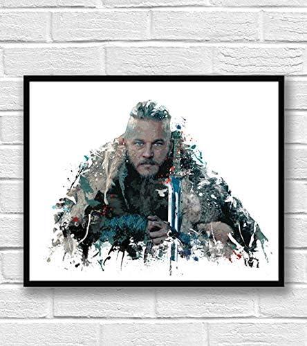 """Ragnar Dog Gamer Gift Poster 18/""""x24/"""""""