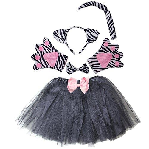 (Kirei Sui Kids Zebra Costume Tutu Set)