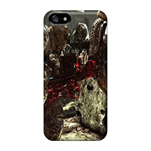 SherriFakhry Iphone 5/5s High Quality Hard Phone Covers Allow Personal Design Vivid Gears Of War 3 Image [EJL7593tyIO]
