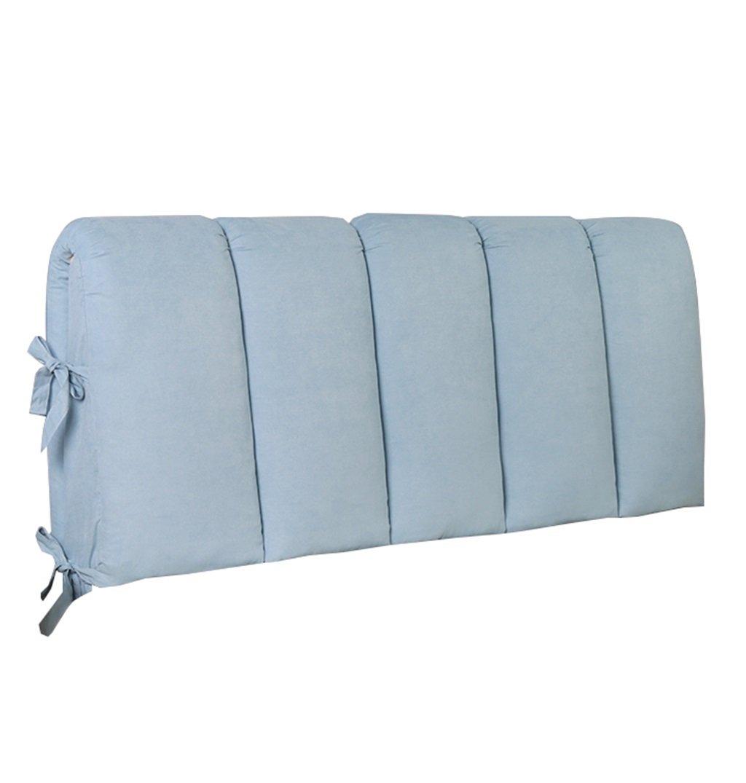 抱き枕 枕のバッククッションは、ブックの枕として使用することができますベッドのソファの枕の腰のクッションネックピローの背もたれを読むぬいぐるみの枕(水色) (サイズ さいず : 120×8×60cm) 120×8×60cm  B07FL93255
