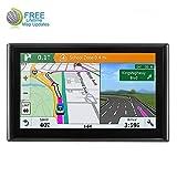 Car GPS, 7-inch Car Portable Navigation System, Real Voice Turn Warning Vehicle GPS Satellite Navigator, Lifetime Map Update
