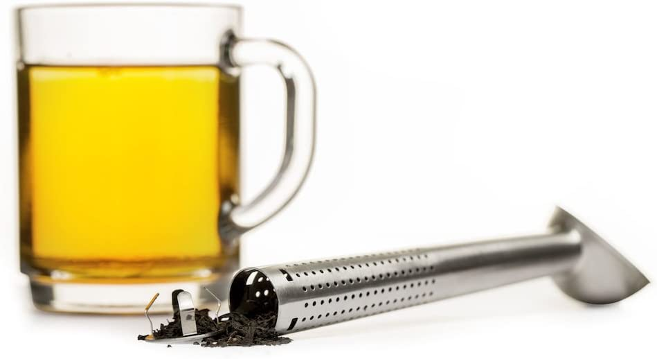 Sagaform Tea infuser with scoop Silver