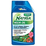 Bayer Advanced NATRIA 706240 Neem Oil Concentrate Pest Control, 24-Ounce