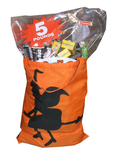 Happy Halloween Trick or Treat Childs Play Goodie Bag Gift Bag Fun Size Chocolate Assortment Candy 5 (Halloween Shops Online)