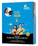 Apollo Diabetes Home Care Kit (Box with Connected Glucometer & 50 Strips) - 12-month Diabetes Care Program