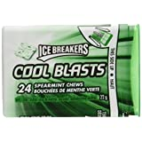 ICE BREAKERS Cool Blasts Spearmint Mints, 22 Gram