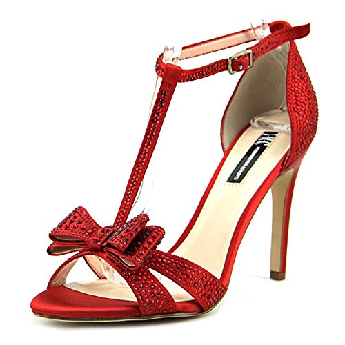 Red Concepts Open Womens INC Toe Strap Reesie Classic 2 Winter Pumps International Ankle 7HfqW1