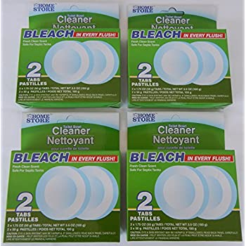 Amazon Com The Home Store Toilet Bowl Cleaner Bleach Tabs
