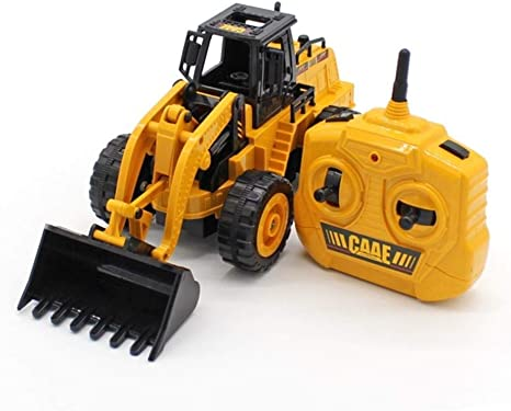 Top Race 5 Channel Fully Functional Remote Control Construction Truck Kids Size