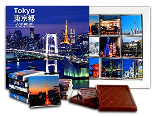 DA CHOCOLATE Candy Souvenir TOKYO Chocolate Gift Set 5x5in 1 box - Park Center Shopping University