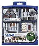 Dremel 710 08 All Purpose Rotary Accessory Kit 160 Piece