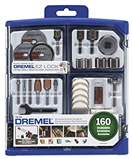 Dremel 710-08 All-Purpose Rotary Accessory Kit, 160-Piece (B00BHGJHMI) | Amazon price tracker / tracking, Amazon price history charts, Amazon price watches, Amazon price drop alerts