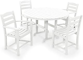 product image for POLYWOOD La Casa Café Dining Set, White