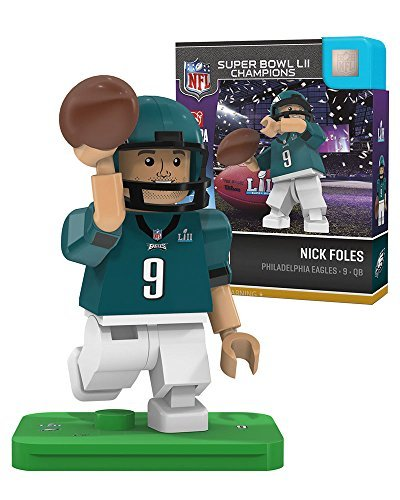 Nick Foles OYO Philadelphia Eagles Super Bowl Champs Generation 4 G4 Minifigure Super Bowl Toy