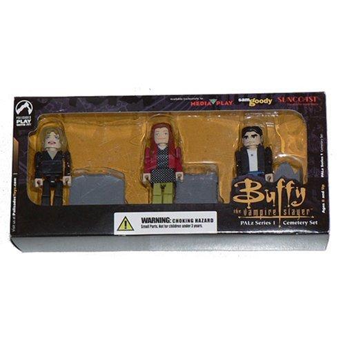 servicio considerado Buffy the Vampire Slayer PALz Cemetery Set Set Set by Palisades  El nuevo outlet de marcas online.