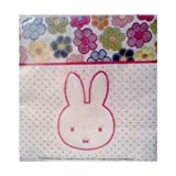 Miffy / Nijntje Bunny Rabbit Birthday Party Beverage Napkins ~ 20 Count by Momentum Brands