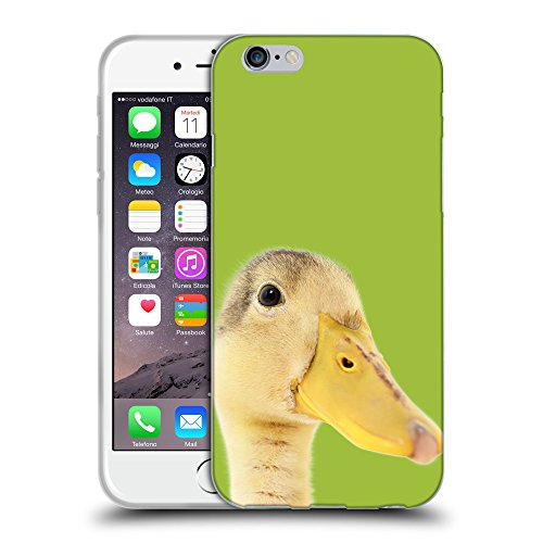 GoGoMobile Coque de Protection TPU Silicone Case pour // Q05760603 Caneton verde Android // Apple iPhone 6 4.7""