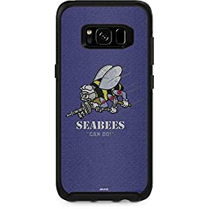 Skinit US Navy OtterBox Symmetry Galaxy S8 Skin - Seabees Can Do Design - Ultra Thin, Lightweight Vinyl Decal Protection from Skinit
