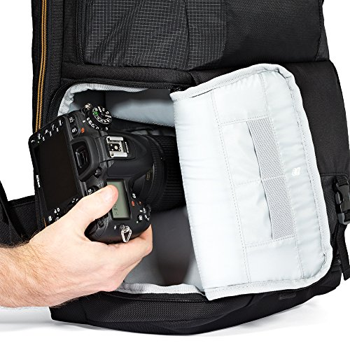 Lowepro Fastpack BP 250 AW II – A Travel-Ready Backpack for DSLR and 15″ Laptop and Tablet