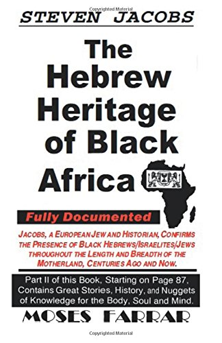 Download The Hebrew Heritage of Black Africa pdf