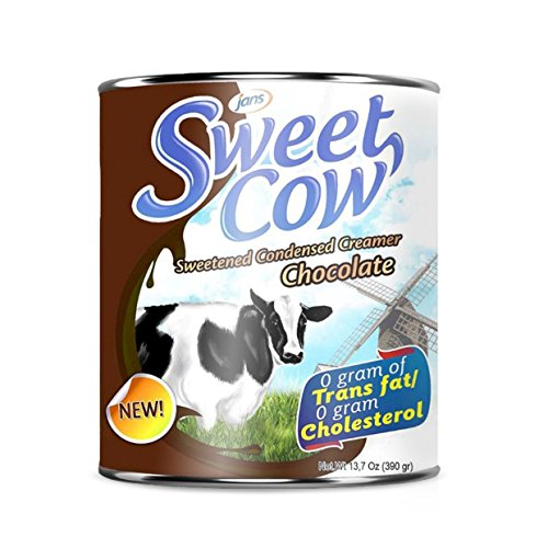 Sweet Cow Chocolate Sweetened Condensed Creamer (13.23 oz) Pack of 16 by Jans
