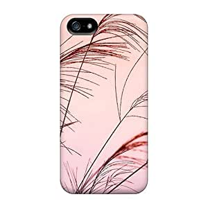 LastMemory Case Cover Skin For Iphone 5/5s (pink Sky Nature Landscape)
