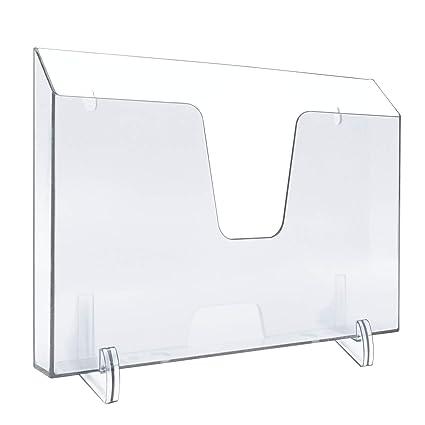 Cubitera de pl/ástico Transparente a Rayas Porta Hielo con Asas Vino champ/án refrigerador portabotellas takestop/®