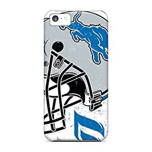 Protective Cell-phone Hard Cover For Apple Iphone 5c With Support Your Personal Customized Nice Detroit Lions Image IanJoeyPatricia