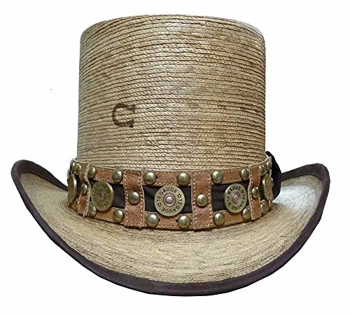 Charlie 1 Horse Quick Draw Straw Top Hat CSQKDR-1124FB