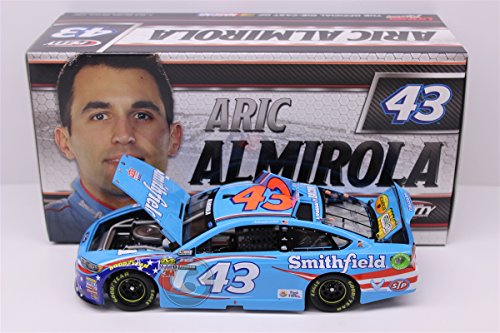 Lionel Nascar Collectables Racing Aric Almirola #43 Smithfield 2017 Ford Fusion 1:24 Scale Arc Hoto Offical Diecast of The Monster Energy Cup Series Vehicle