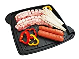 Baroget - Korean BBQ Non-Stick Grill Pan Aluminum Die-Casting Grill Pan