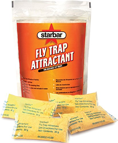 Starbar Fly Trap Attractant Refill For Reusable Fly Traps, 8-30g ()
