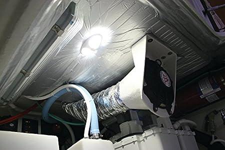 HELLA 959700701 9700 Series DuraLED Multivolt Warm White 8-28V DC Interior//Exterior 12-LED Light with White Shroud Hella Marine HELLA 959700701 /'9700 Series/' DuraLED Multivolt Warm White 8-28V DC Interior//Exterior 12-LED Light with White Shroud