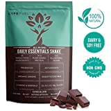 LYFE FUEL Plant Based Meal Replacement Shakes - A Complete Natural Nutritional Powder Made for Active & Healthy Lifestyles - Lean, Low-Carb, Vegan Keto Protein & Superfood Mix (Chocolate - 14 Meals)