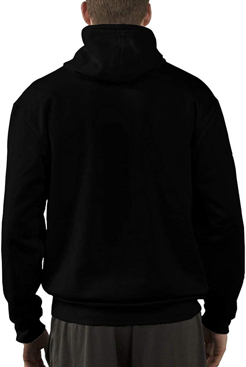 Leephen Mens Sweatshirt Print Hip Hop Rap Snoop Dogg Logo Casual Fleece Pullover Hoodies