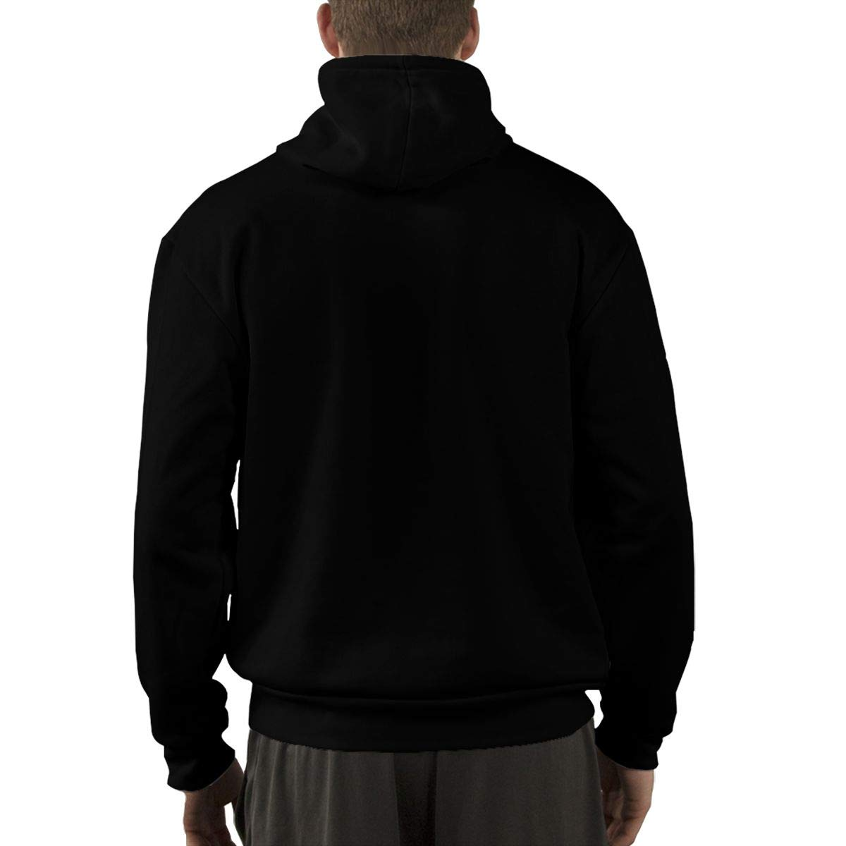 Eowlte Over The Garden Wall Mens Long Sleeve Classic Hooded Pocket Sweatshirt Black M