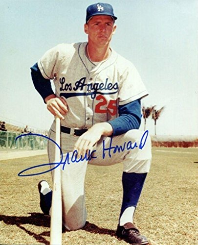 Signed Frank Howard Photo - 8X10 Color BE Hologram - Autographed MLB Photos