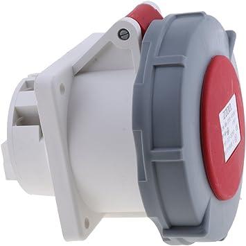 e Rojo Taller D DOLITY Z/ócalo Macho IP67 Enchufe z/ócalo Impermeable Macho a Conector Hembra para Caravana 32a 220v-415v 3p n