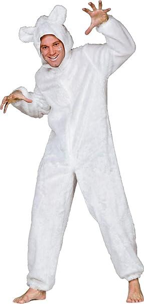 Disfraz de oso polar de peluche traje para hombre, tamaño 50 - 60 ...