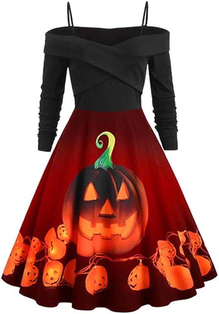 ERLOU Halloween Women's...