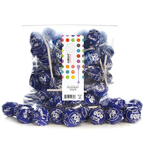 Tootsie Pops Grape Purple - 2 Lb. Resealable Bag (approx. 50 pops) (Tootsie Pops Grape compare prices)