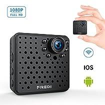 FREDI 超小型 隠しカメラ WiFi 長時間録画対応 防犯カメラ 1080P...