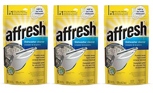 Affresh W10549850 Dishwasher Cleaner NGOuKW, 18 Tablets in Pouch by Affresh
