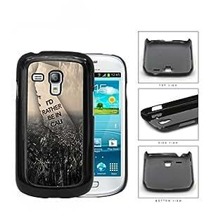 Busy City Birds Eye View Hard Plastic Snap On Cell Phone Case Samsung Galaxy S3 SIII Mini I8200