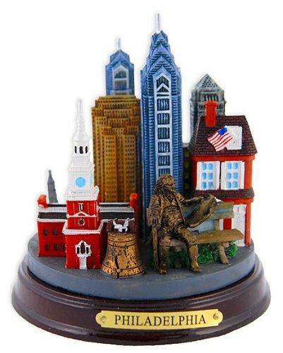 Philadelphia 3-D Model Monument, Philadelphia Souvenirs, Philadelphia Gifts