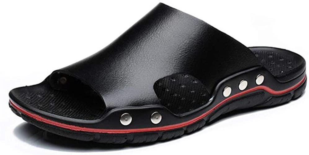 Neue lässige Lochschuhe weiche rutschfeste Sandalen Hausschuhe Männer