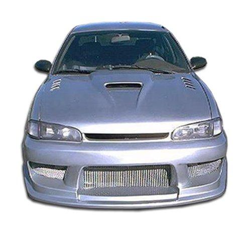 Duraflex Replacement for 1993-1997 Geo Prizm Drifter Front Bumper Cover - 1 Piece ()