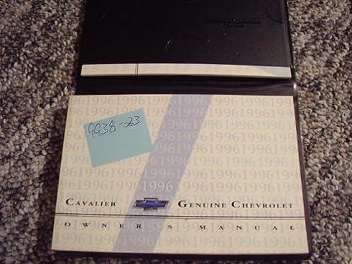 1996 chevrolet cavalier owners manual chevrolet amazon com books rh amazon com cavalier service manual online 2003 cavalier service manual